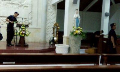 Jelang Perayaan Natal, Gereja Besar Disterilisasi Tim Gegana 101