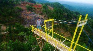 selfie gunung gentong