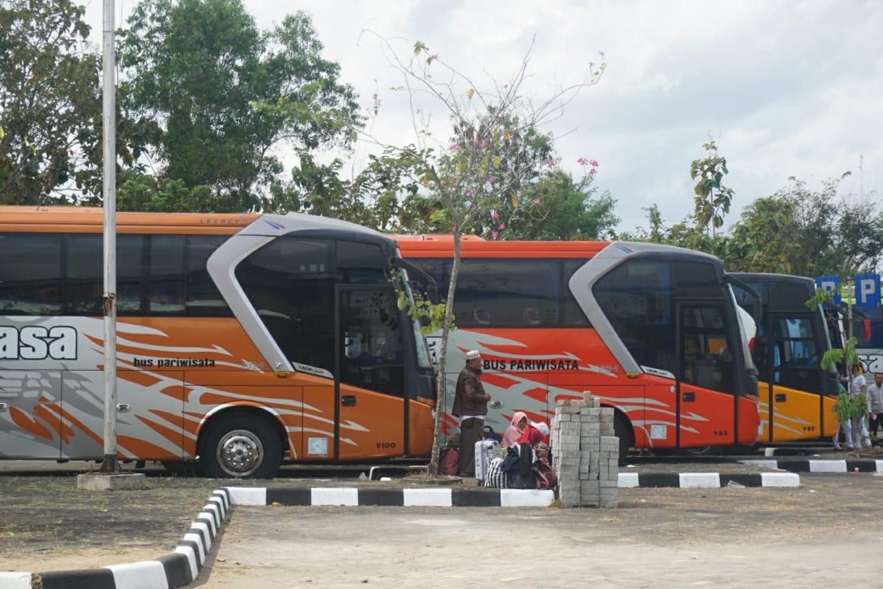 Upaya Kendalikan Covid-19 di Gunungkidul, Bus AKAP Wajib Turunkan Penumpang di Terminal 157
