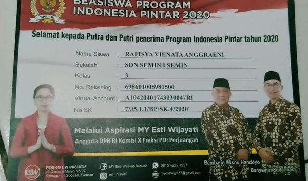 Kartu Program PIP Bergambar Paslon Bupati, Bawaslu Akan Surati Anggota DPR RI 69