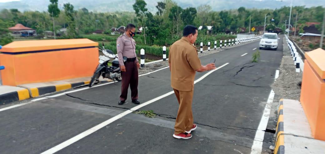 Pembangunan Proyek Senilai Miliaran Diduga Ngawur, Lurah Minta Rekanan Bongkar Jembatan 157