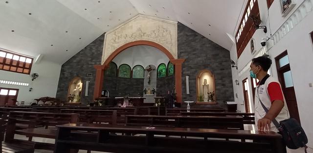 Protokol Ketat Misa Natal di Gereja St Petrus Kanisius, Umat Harus Daftar Dulu 157
