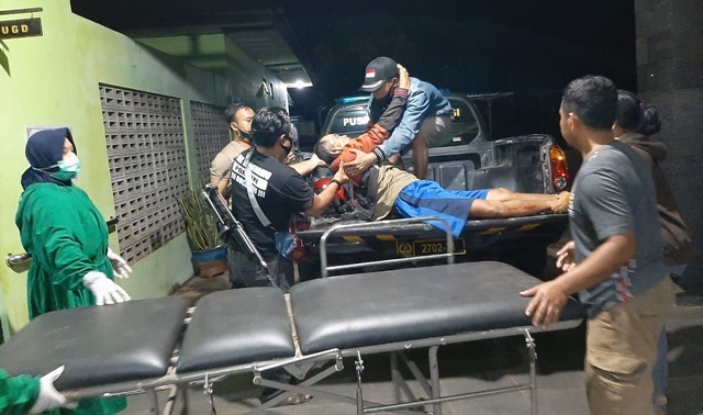 Tak Hafal Medan, Pemotor Terporosok ke Jurang 157