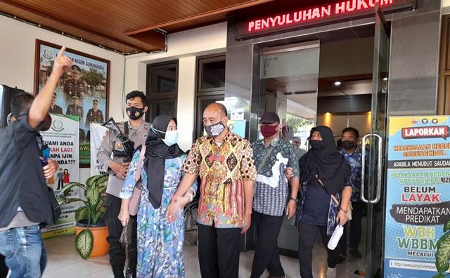 Korupsi Anggaran Tunjangan, 7 Mantan Anggota DPRD Gunungkidul Dieksekusi 157