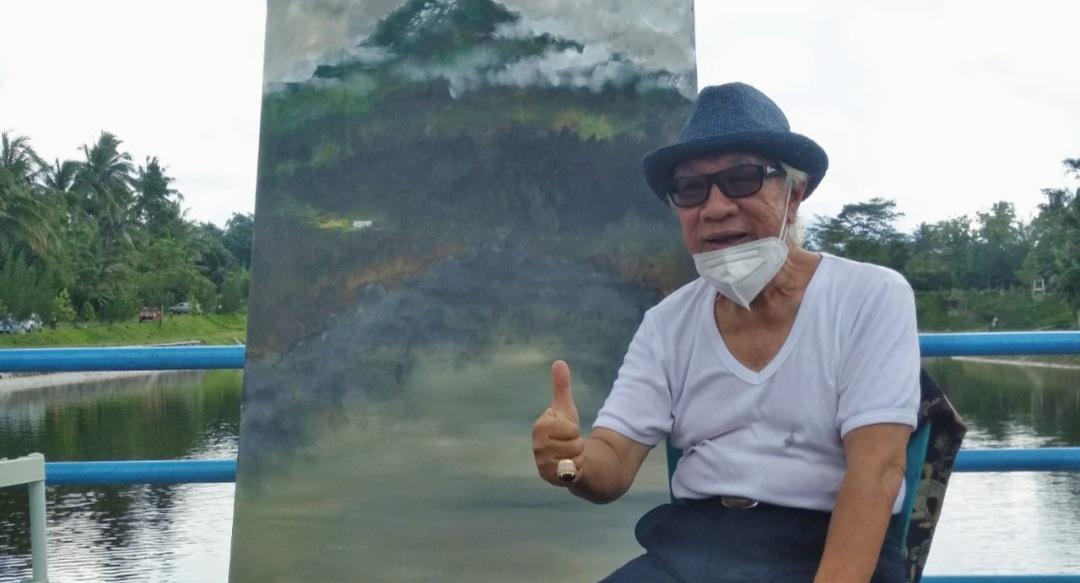 Keheningan Merapi, Lukisan Sidik Dilelang untuk Bantu Korban Erupsi 149