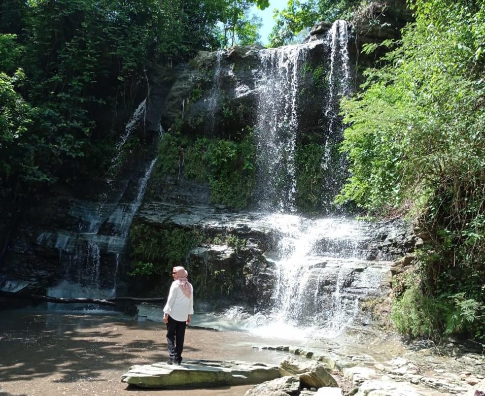 Pesona Air Terjun Ngelo, Lokasi Wisata Sisi Utara Gunungkidul yang Masih Alami 161