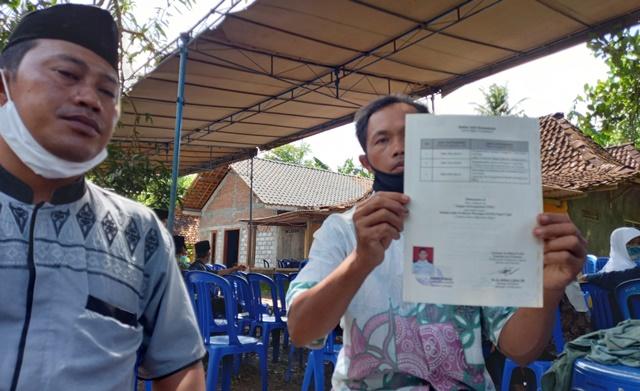Kepulangan Jenazah TKI Asal Panggang Masih Gelap 145