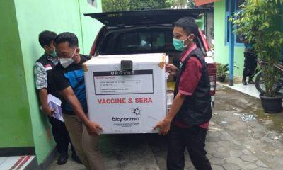 Vaksinasi Tahap Dua, Dinkes Gunungkidul Kekurangan Puluhan Ribu Dosis Vaksin Covid-19 137
