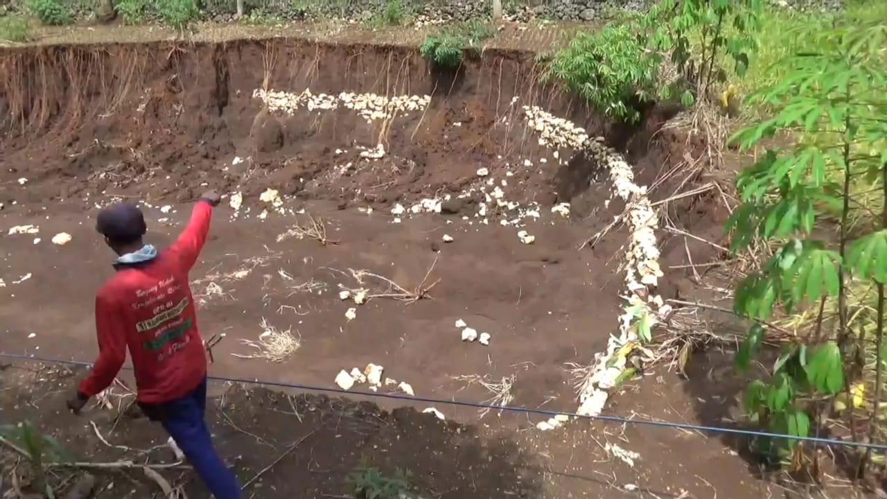 Banjir Sepekan di Girisubo, Ladang Padi Siap Panen Milik Paeno Hilang 157