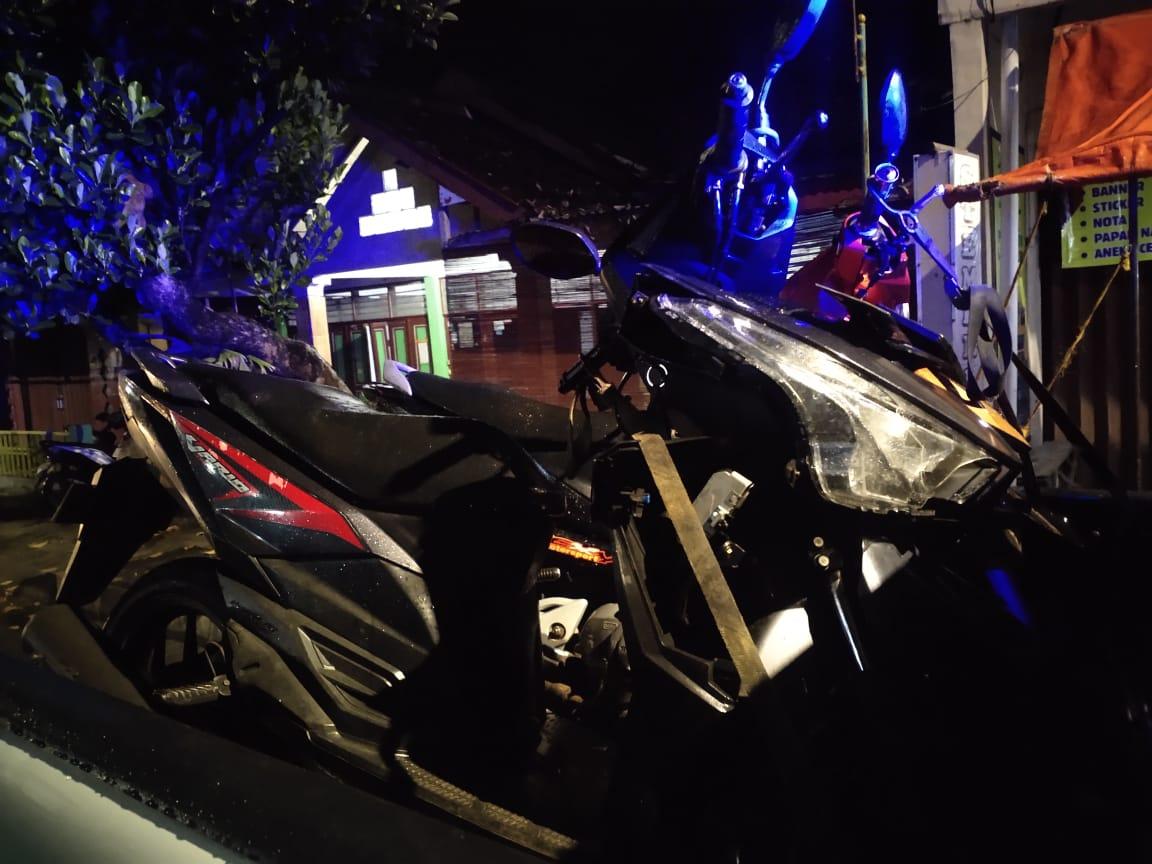 Kecelakaan Maut di Jalan Semanu-Bedoyo, Seorang Pemotor Tewas di Tempat 145