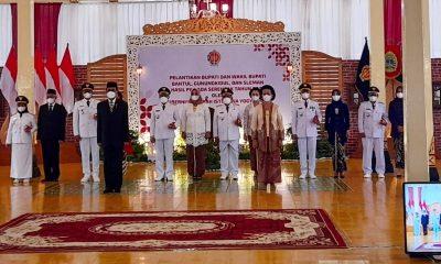 Sunaryanta-Heri Susanto Resmi Jabat Bupati-Wakil Bupati Gunungkidul 131