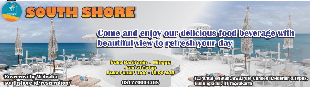 Mengunjungi South Shore, Pool and Bar Atas Bukit dengan View Pantai Bak Santorini di Gunungkidul 168